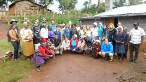Students from University of Gastronomic Sciences (Italy) with Mwitamayu self-Help Group